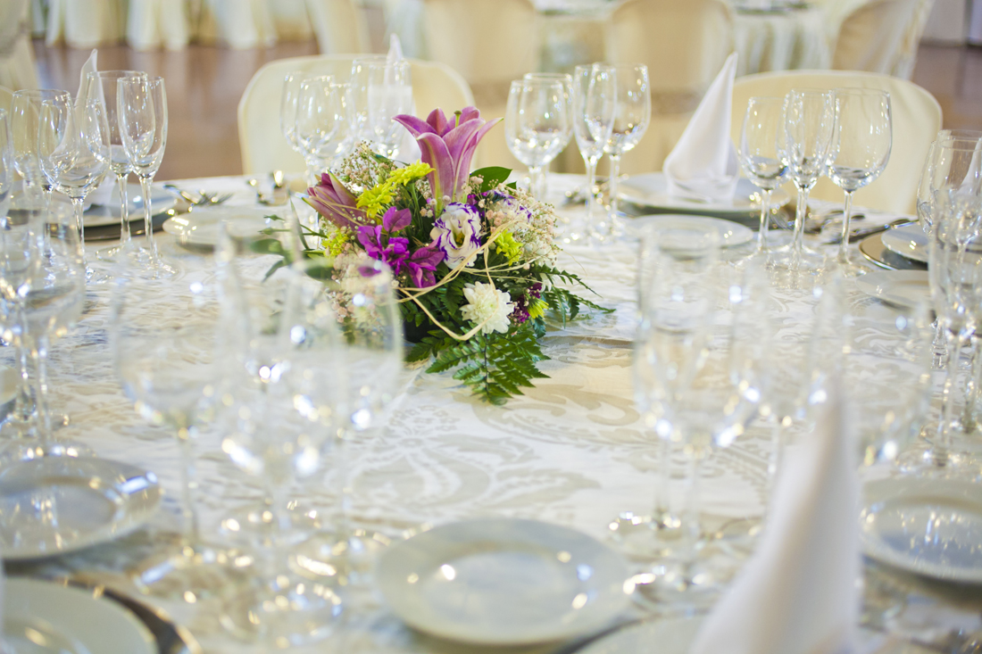 Centros originales para las mesas de vuestra boda