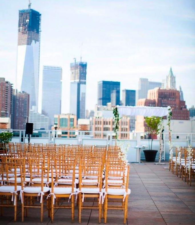 Celebrando una boda en la ciudad