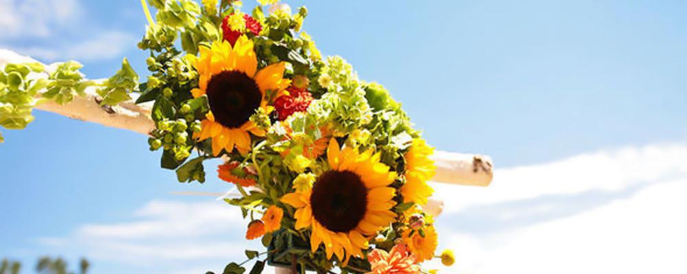 Las mejores flores para una boda en verano