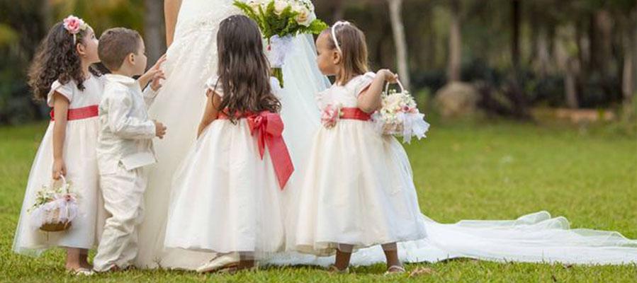 Cómo celebrar una boda con niños